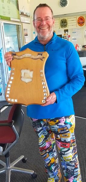2021 Aegis Shield Winner Tony Newling